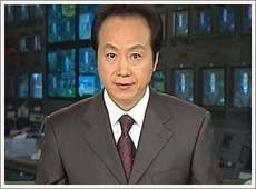 中央电视台《新闻联播》主持人罗京
