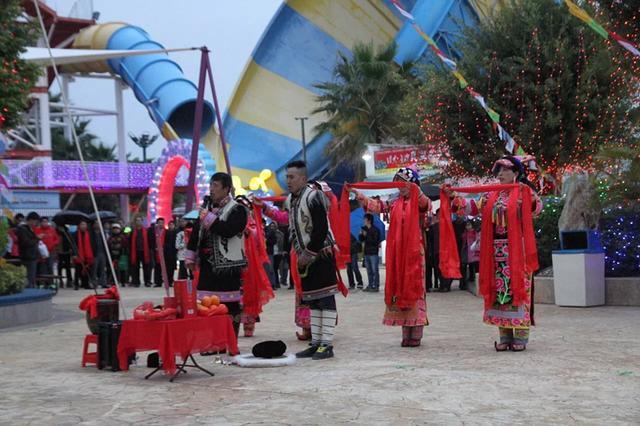 首届民俗灯光节在观音山举行 2月2日持续至3月11日
