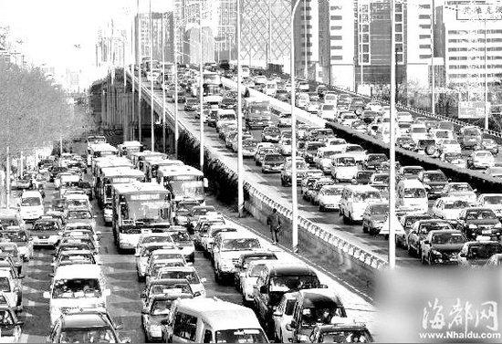 北京治堵今起实施限购令 每月摇号购车