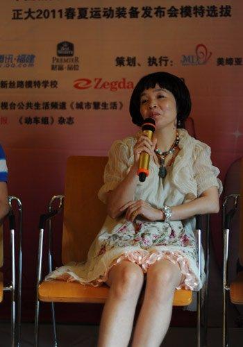 采访蔡美月女士 婚纱秀模特更需要激情(图)