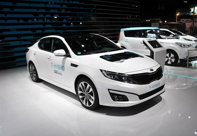 现代集团将明年推索纳塔及K5插电式混动车