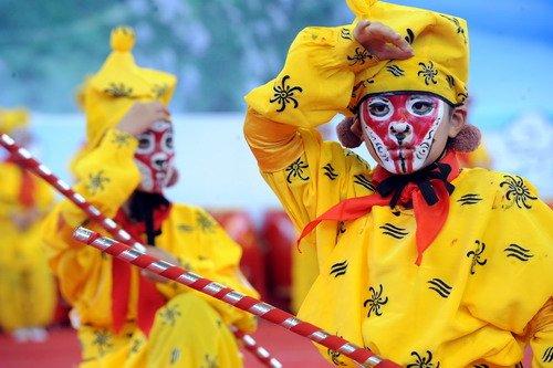 海峡两岸齐天大圣文化交流活动在闽北顺昌开幕