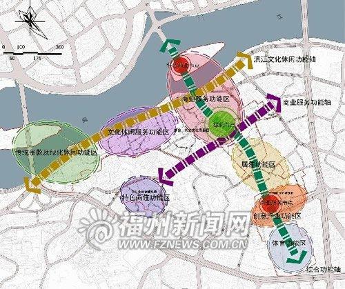 榕烟台山保护设计方案出炉有38条规划街巷版式保护的定义图片