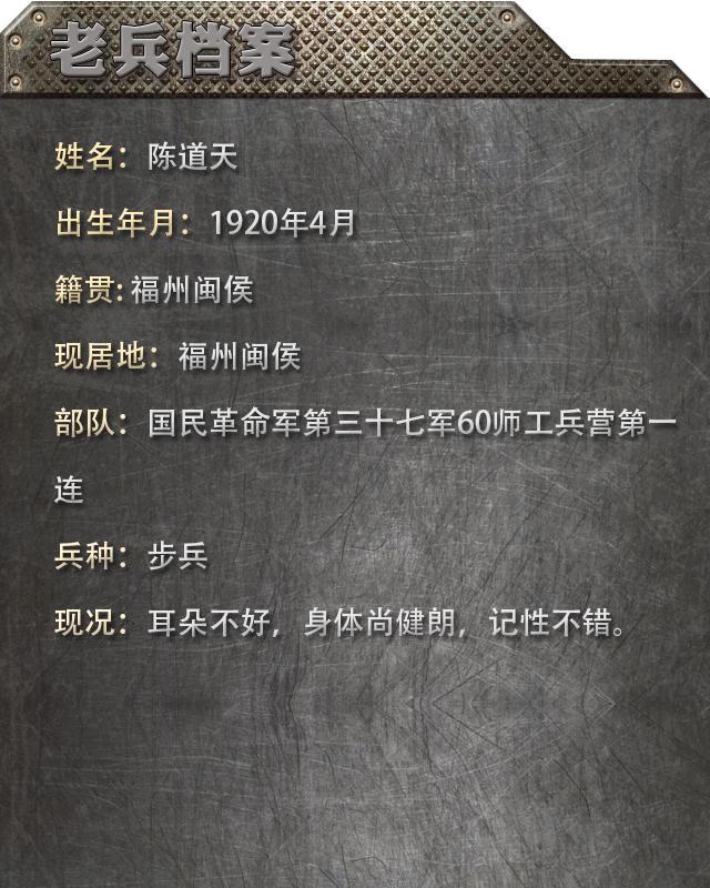 陈道天:子弹击中战友的心脏 血溅了他一身