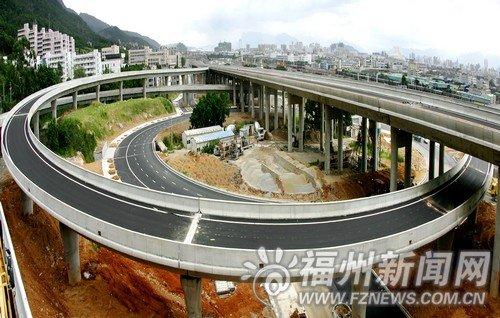 国庆前福州再添3条出城通道 各项目加紧施工