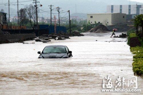 福清200多部车泡水报废 其中不少是豪车