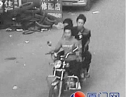 三劫匪飞车抢包下手狠 年轻护士摔下摩的身亡图片 25081 401x310