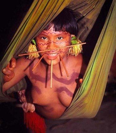 巴西亚马逊原始部落