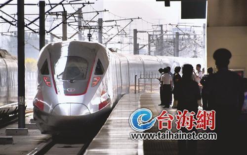 注意!从厦门坐动车去武汉、重庆的时间缩短