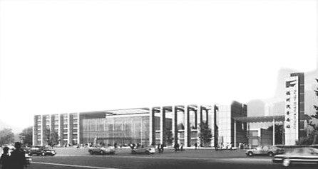 福州大型地铁站之一,拟设8个出入口,福州市第七医院门诊楼及高清图片