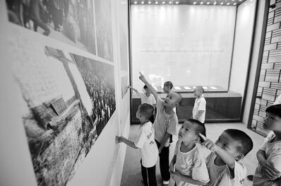 南安九日山祈风石刻展示馆向游客开放
