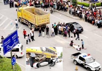 福建两月发生8起土方车事故致15人死亡