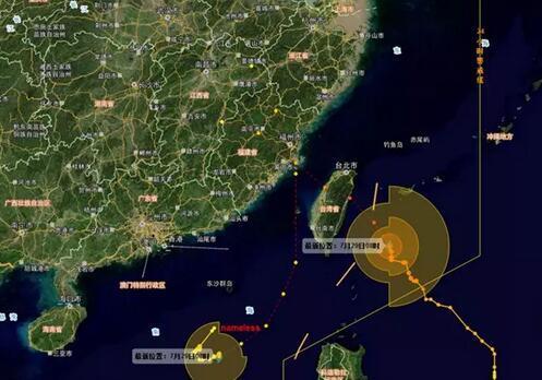 双台风登陆时间提前 10号台风在霞浦到晋江登陆