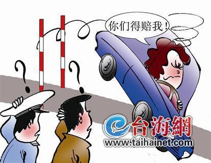 厦门女子驾考时晕倒致车毁人伤 向驾校索赔31万