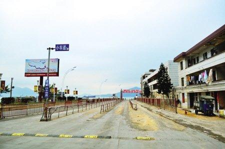 平潭海峡大桥通车后 娘宫码头出现渡轮空船