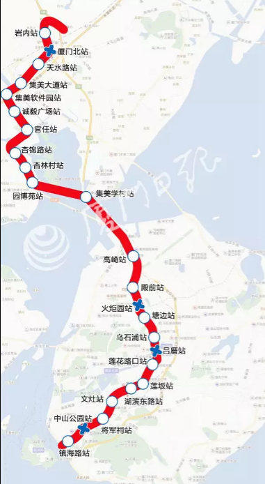快讯!厦门地铁1号线热滑成功 明日开始正线调试
