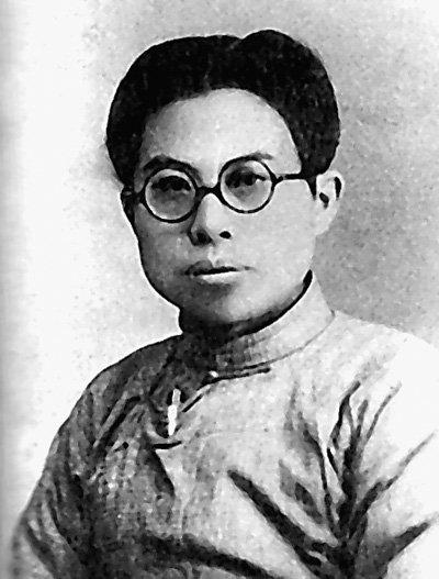 江上青:遭地主武装伏击壮烈牺牲