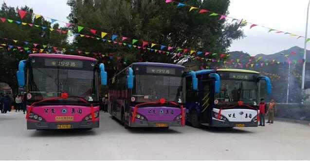 福州199路公交线路正式开通 进出长乐更方便了