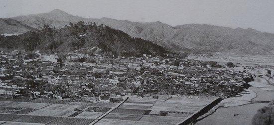 中央红军长征出发点之一长汀县城
