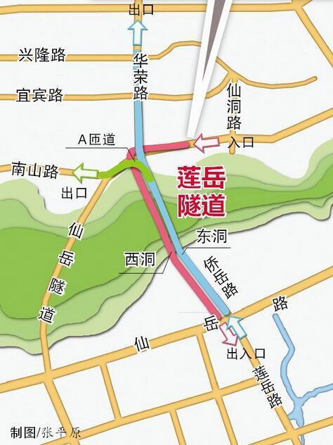 厦门莲岳隧道本周日通车 将改善思明与湖里交通