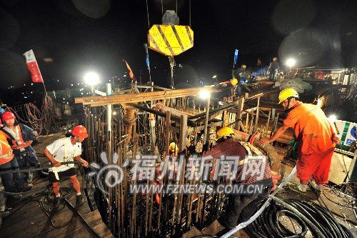 闽江,规划建设的上下店路延伸段淮安头规划环岛路,止于淮安侧三环线主