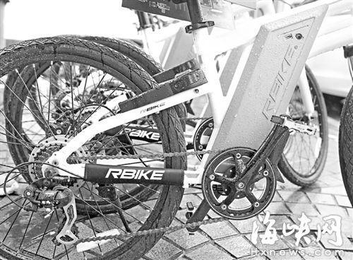 共享助力车福州试运营 有电池好爬坡骑行较省力