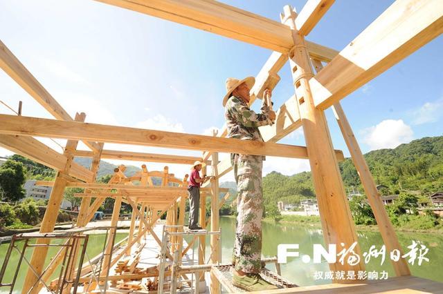 晋安日溪乡多项景观改造进入尾声国庆节前完工