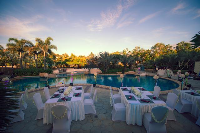 海悦山庄酒店婚礼秀 实现您关于婚礼的所有想象