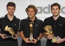 历届世界杯金球奖、金靴奖和金手套奖盘点