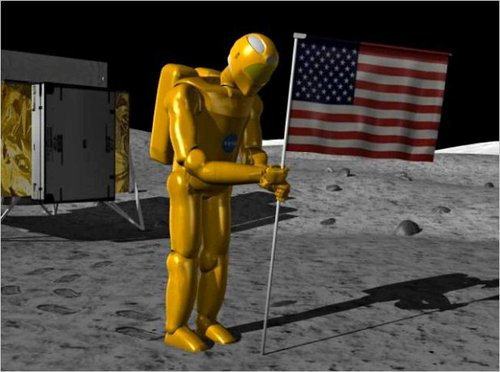 """美将在2012年底派机器人重返月球""""插国旗"""""""
