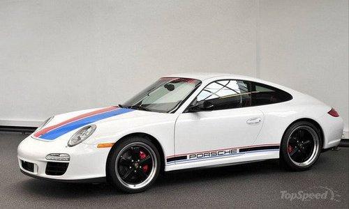 保时捷推911卡雷拉特别版 配专属性能套件高清图片