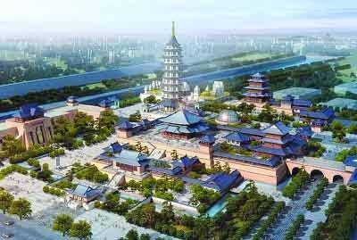 王健林捐款10亿重建大报恩寺 创下纪录