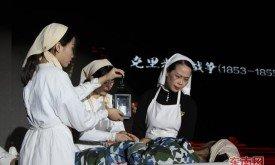 福建卫职院上演护士服饰秀