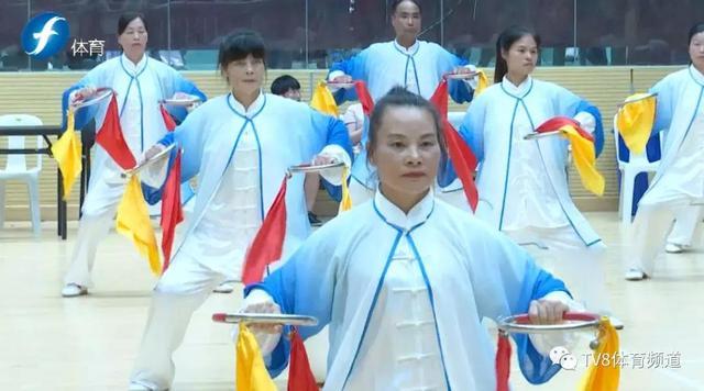 《八闽大地太极拳健康工程》太极拳专项比赛在长乐举行