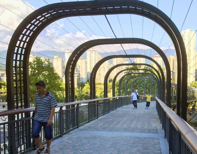 金鸡山公园东入口正式开放 茉莉花台花香四溢