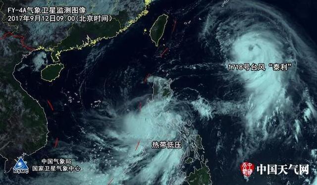 """宁德发布台风预警Ⅳ级 """"泰利""""最强可达17级"""