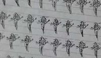 组图:女生寝室打麻将被老师抓 罚画百遍幺鸡