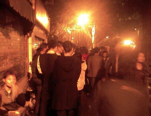 福州台江数十户遭遇火灾 已燃烧1小时(图)