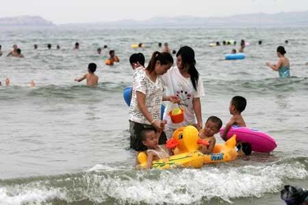 平潭龙凤头海滩-8月湿身好消暑 福州周边玩水好去处