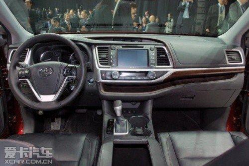 全新丰田汉兰达将明年国产 搭全新动力高清图片