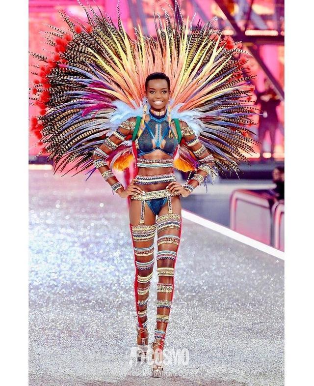 """非洲裔超模即将称霸维密秀场?小脸长腿""""种族优势""""逆天"""