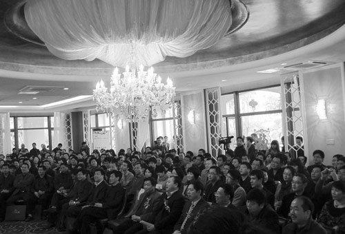 三盛海德公园中央景观组团新春献礼