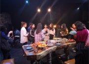 4月21日,福建人民艺术剧院开展《盛宴》?#24149;?#27801;龙活动/