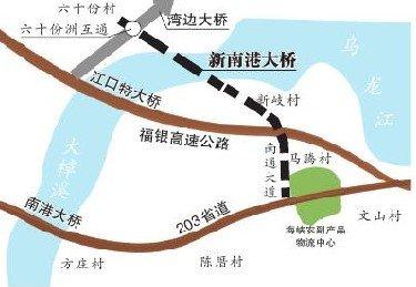 新南港大桥明年春节前后动建 缩短出城距离