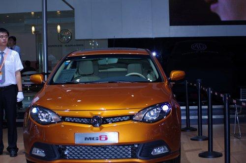 上海汽车荣威、MG全系车型亮相厦门车展