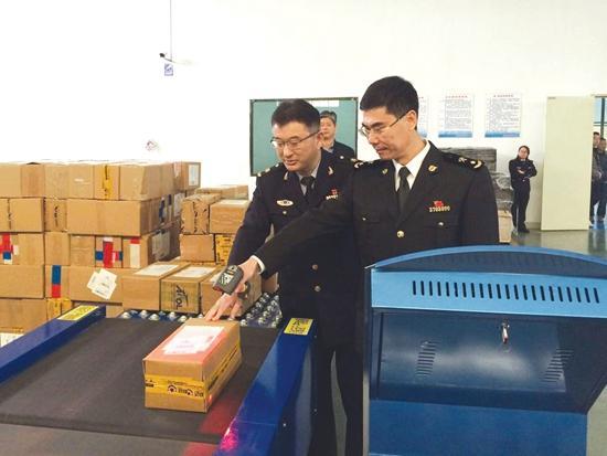 石狮国际快件监管中心正式运营 进入常态化运作