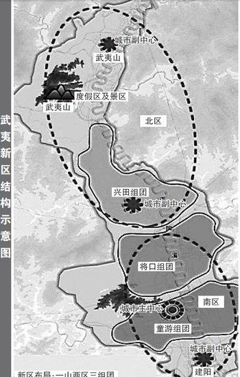 武夷新区总体规划获批准 建阳武夷山将连成一体