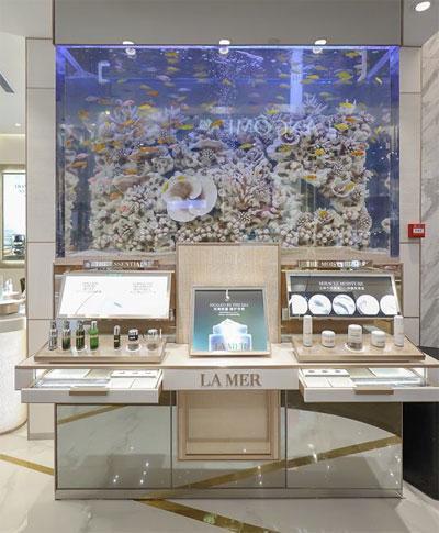 源自深海护肤传奇 LA MER海蓝之谜福州东百中心店盛大揭幕