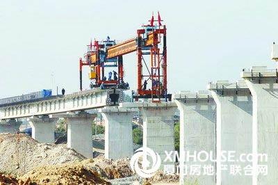 厦深铁路深惠段年内铺轨 预计明年底全线通车