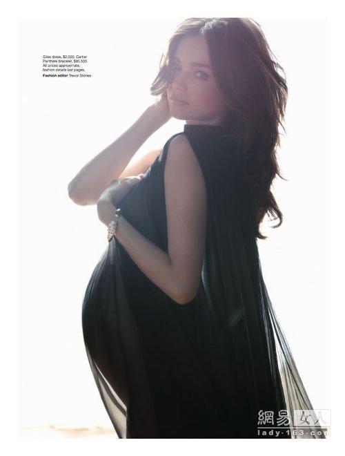 时尚频道 时尚图库  正文    做了孕妈咪的米兰达·可儿 (miranda图片